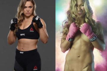Ronda Rousey pelada em fotos da espn