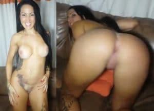 Video caseiro de Elisa Sanches pelada