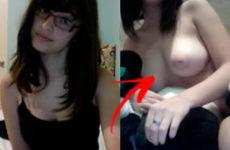 Nudes amadores da Ninfeta tetuda caiu na net