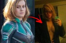 Capitã marvel Brie Larson pelada em fotos vazadas 01