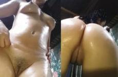 Safada da bunda gostosa fez video pelada pros amigos do zapzap