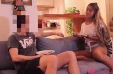 Lolah Mello transou com fã em seu apartamento e fez um sexo amador gostoso