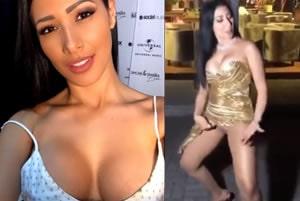 Simaria quase mostra a pepeka tirando fotos na sua festa de 37 anos
